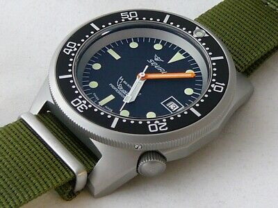 $ CDN1170.73 • Buy Watch Squale Professional 500mt - Blasted Case, Nato Olive Strap