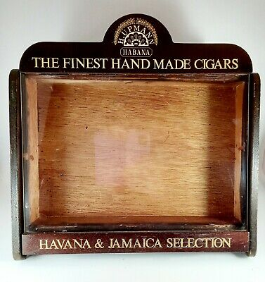 £125 • Buy Counter Top Display For H.Upmann Finest The Hand Made Cigars - Havana & Jamaica