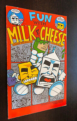 $3.99 • Buy FUN WITH MILK AND CHEESE TPB (1994 Slave Labor) -- Evan Dorkin OOP Graphic Novel