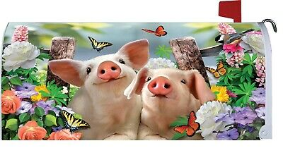$18 • Buy Pigs Flower Magnetic Mailbox Cover