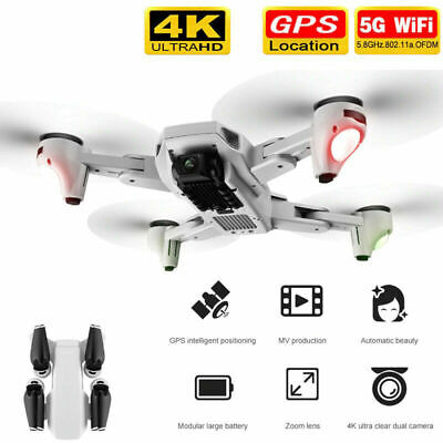 AU109.89 • Buy S103 PRO GPS Drone 4K Camera Drones 5G WIFI FPV Foldable RC Quadcopter Drone NEW
