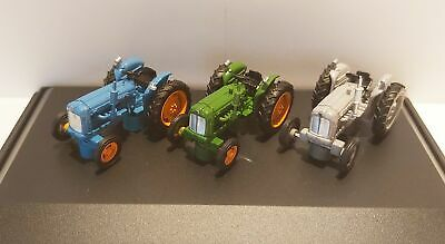 £24.50 • Buy Fordson Tractor 3 Piece Set Diecast Model 1:76 Scale Gauge 00 Oxford NEW