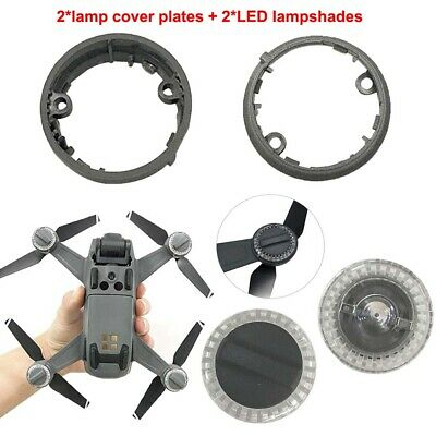 AU14.77 • Buy Lamp Cover Plate LED Lampshades For DJI Spark Spare Part Accessories