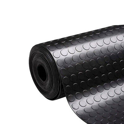 £18.99 • Buy Rubber Matting Flooring Stud / Penny Coin Industrial For Garages, Gym 3MM X 5MM