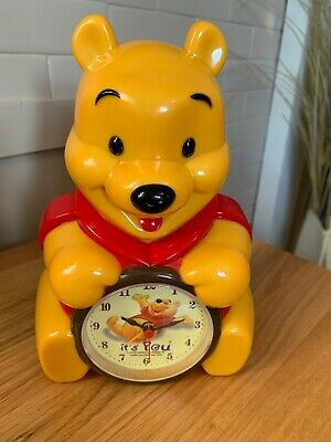 £3.99 • Buy Winnie The Pooh Child's Alarm Clock - Battery Operated - BNWOT