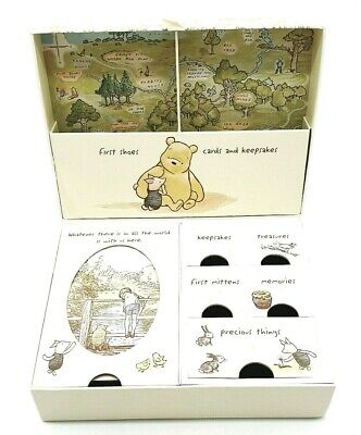 £13.99 • Buy Disney Winnie The Pooh Classics Heritage Keepsake Baby Box With Compartments