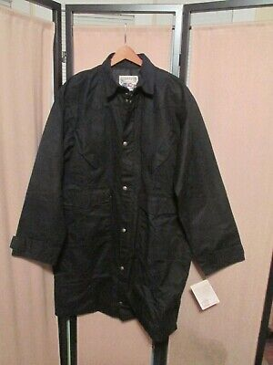 $96 • Buy Schaefer Outfitter Large Style 110 Black  Duster Western Jacket NEW