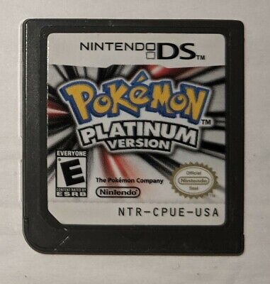 AU128.74 • Buy Pokemon Platinum Game Cartridge Only - Authentic, Tested - Save/Loads Great