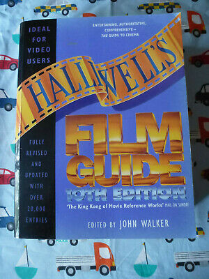 £6 • Buy HALLIWELL'S FILM GUIDE 10th EDITION EDITED BY JOHN WALKER 1994 LARGE PAPERBACK
