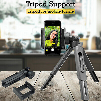 £5.44 • Buy Mobile Phone Camera Stand Holder 360 Adjustment Tripod Support For Apple IPhone