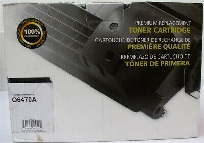$ CDN44.05 • Buy COMPATIBLE HP Q6470A Toner Cartridge For 3600 3800 CANON 8450 5360 NEW