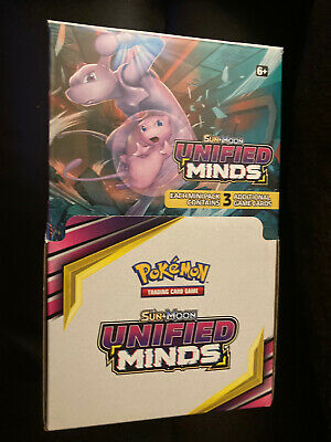 $14.99 • Buy Pokemon Unified Minds Sun & Moon Booster 3 Card Retail Display BOX ONLY EMPTY