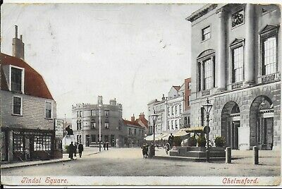 £4.99 • Buy Rare,early,genuine Vintage Animated Postcard,tindal Square,chelmsford,1906