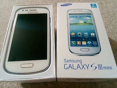 £75 • Buy Samsung Galaxy S3 Mini (unlocked) 'Marble White' With Accessories Ex Cond.