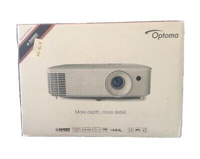 £485 • Buy Brand New Optoma HD29Darbee 1080p, 3200 Lumens, 3D DLP, Entertainment Projector