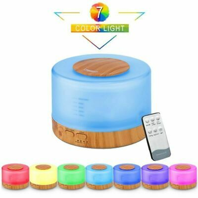 £14.85 • Buy 7 Color LED Ultrasonic Humidifier Room Aroma Essential Oil Diffuser Air Purifier