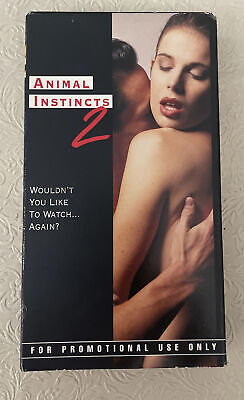 $ CDN25.16 • Buy Animal Instincts 2 Shannon Whirry  VHS Video , Promotional