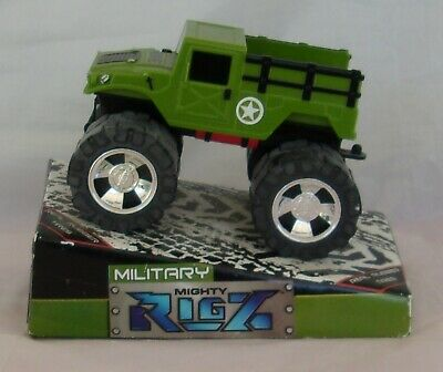 $12.99 • Buy Mighty Rigz Military Humvee Green Raised Truck With Working Winch - Rubber Tires