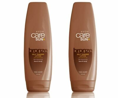£6.40 • Buy 2x Avon Care Sun+ Bronze Self Tanning Lotion With Almond Oil 150ml