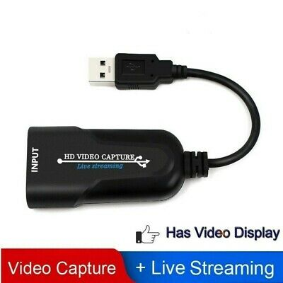 £7.79 • Buy HDMI To USB 2.0 Port Video Capture Card HD 1080P 60fps Record For Live Streaming