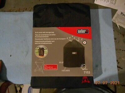 $ CDN37.60 • Buy WEBER 7153 Grill Cover With Storage Bag For 26.75 Inch Charcoal Grills