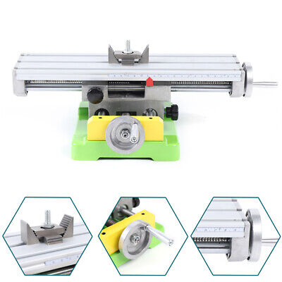 $81.06 • Buy XY Two-axis Milling Machine Compound Cross Slide Drill Press Vise Fixture Table