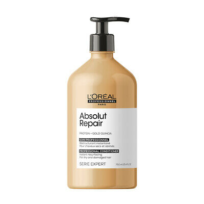 £22.90 • Buy L'Oreal Professional Serie Expert Absolut Repair Protein CONDITIONER Large 750ml