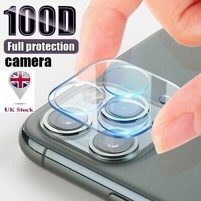 £2.59 • Buy 9H Camera Lens For IPhone 12, 11 Pro MAX Case Protector Tempered Glass Cover UK