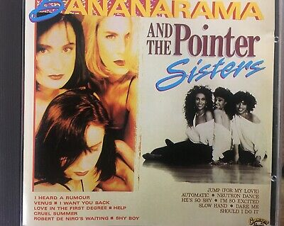 £16.05 • Buy BANANARAMA / THE POINTER SISTERS - The Very Best Of CD Concept Records CC0177CD
