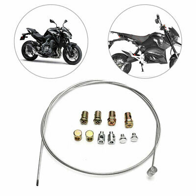 £3.58 • Buy Universal Throttle Clutch Cable Repair Kit Lawn Mower Rotavator Ride Accessories