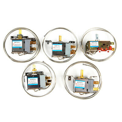 AU5.56 • Buy 1Pc Refrigerator Parts Thermostat  Household 250V Metal Temperature Controll.bu