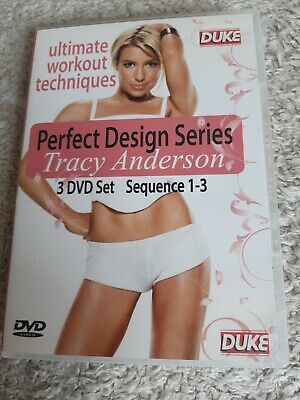£5.50 • Buy Tracy Anderson Perfect Design Series - Sequence 1-3 (DVD, 2013)