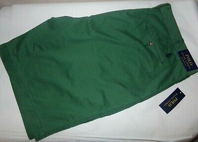 $29.99 • Buy NWT Mens Polo Ralph Lauren Relaxed Fit Shorts 10 ~Green~40