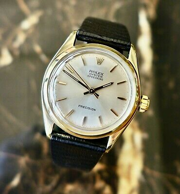 $ CDN5799.21 • Buy A BEAUTIFUL VINTAGE 1959 MID-SIZE 9ct GOLD ROLEX OYSTER SPEEDKING WRISTWATCH