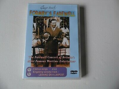 £14.95 • Buy George Formby - Formby's Farewell - DVD