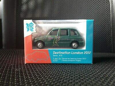 £4.99 • Buy Olympic Games London 2012 Diecast Corgi Toy Taxi - Tennis #10 - New & Boxed