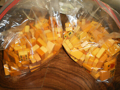 $345 • Buy 300 Vintage Bakelite Butterscotch Tiles In Different Sizes & Colors In Used Con