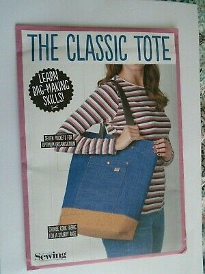 £4.99 • Buy Classic Tote Bag Sewing Pattern By Simply Sewing New / Unused Craft