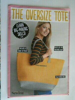 £4.99 • Buy The Oversize Tote  Bag Sewing Pattern By Simply Sewing New /unused Craft