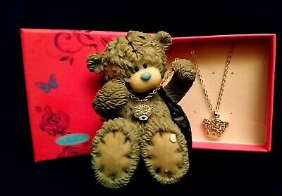 £29.99 • Buy Me To You Bear Figurine / Tatty Teddy - 41070 - Bear With Necklace - Boxed