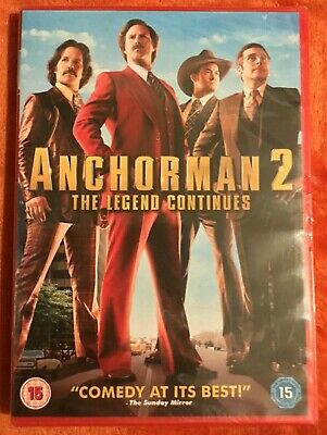 £1.99 • Buy Anchorman 2 - The Legend Continues DVD (New And Sealed)