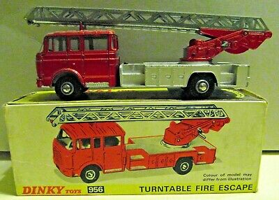 £85 • Buy 956 Dinky Berliet Turntable Fire Escape. Working.  Boxed Complete. Original.