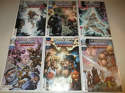 $48 • Buy Injustice Vs Masters Of The Universe #1-6 (Complete 2018 DC Series) 1 2 3 4 5 6
