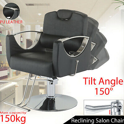 £148.99 • Buy Adjustable Hydraulic Reclining Barber Hairdressing Beauty Salon Chair NEW