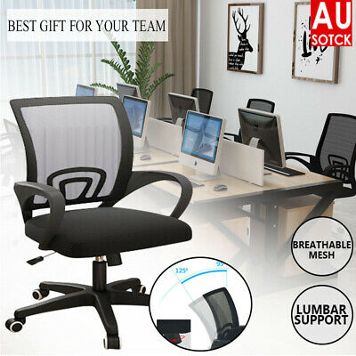AU49.29 • Buy Comfortable Gaming Office Chair Chair Computer Mesh Chairs Executive Black AU