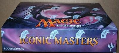 £174.99 • Buy Magic The Gathering MTG Trading Card Iconic Masters Booster Box