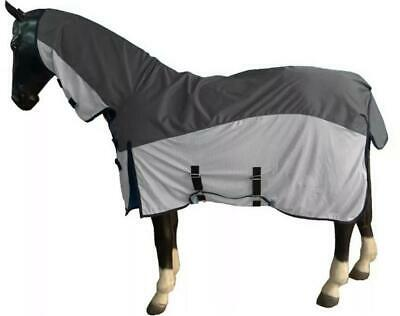 £39.99 • Buy Pony Horse Lightweight Waterproof Turnout Fly Blanket Fixed Neck 2 In 1 Cover