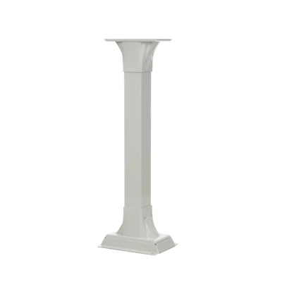 $157.21 • Buy Mailbox Post-Stand 41 In.x 9.84 In. Corrosion/Fade Resistant Decorative Aluminum