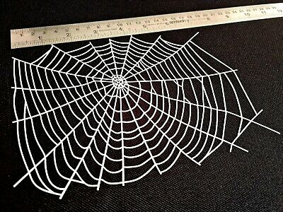 £7.95 • Buy Spider COBWEB Halloween Airbrush Stencils Face Body Paint Web Party Texture