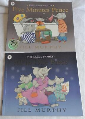 £2.20 • Buy The Large Family -2 Books On The Elephant Family - Minute's Peace & Cd,one Piece